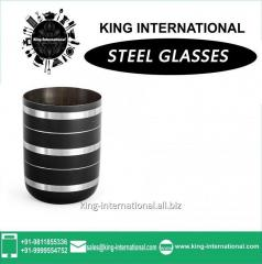 Black Glasses/Tumbler Set of 1 pcs