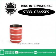 Red Glasses/Tumbler Set of 1 pcs