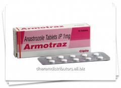 Armotraz 1mg (Anastrozole )