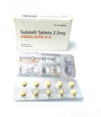 VIDALISTA 2.5 mg GENERIC CIALIS