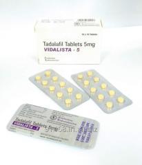 VIDALISTA 5 mg GENERIC CIALIS