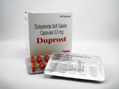 Duprost 0.50mg (Dutasteride)