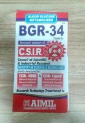Bgr-34 Tablets Diabetes Medication
