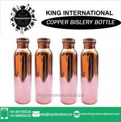 Copper Hot Milk Boiling Bislery Bottle