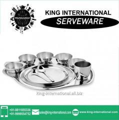 Heavy weight stainless steel Serveware Serving Set