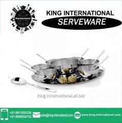 Stainless steel Tableware Serveware Serving Set