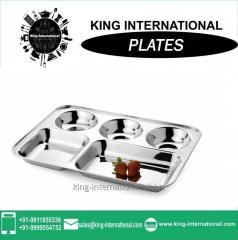Stainless Steel Restaurant Dinner Plate