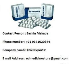 Metformin Tablets - Metformin for diabetes
