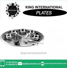 Stainless Steel Dish/Mess Plate