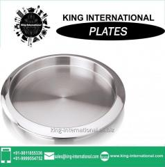 Stainless steel Mess plate 20/22/24cm