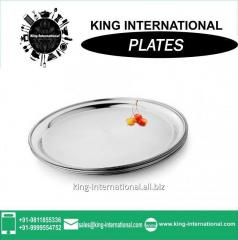 Stainless Steel Bridal Mess  / Steak Plate