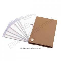 Leather Business Credit Card Holder