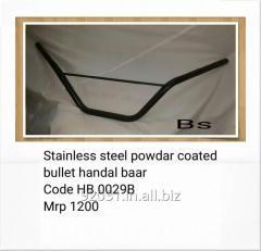 Stainless steel powdar coated bullet handal baar