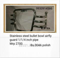 Stainless steel bullet bowl airfly guard
