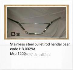 Stainless steel bullet rod handal baar