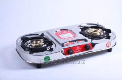 2 Burner stove Stainless Steel Gas Stove Oval