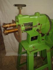 Motorised Swaging machine with swage rolls