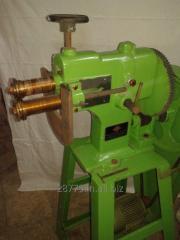 Motorised Swaging machine with swage rolls