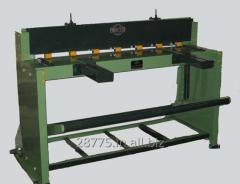 Foot operated Guillotine Shearing machine