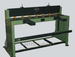 Foot operated Guillotine Shearing machine