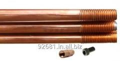 Copper Bonded Earth Rod and Accessories