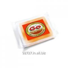 Cheddar cheese orange