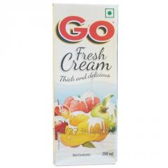 Go fresh cream