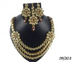 Indian traditional artifical jewellery