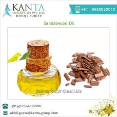 Natural and Aromatic Sandalwood Oil Manufacturer