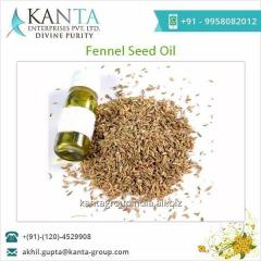 Food Grade Fennel Seed Oil