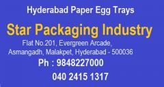 Paper Egg Trays in Hyderabad