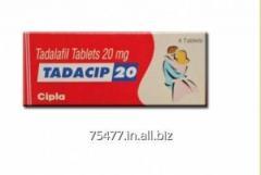 Tadacip Cipla Tadalafil 20mg Tablets