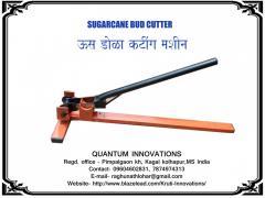 Sugarcane bud cutter