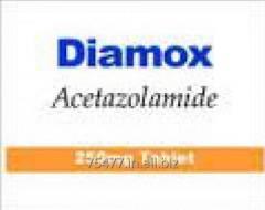 Diuretic Medications     -- Diamox - Acetazolamide 250mg Tablets