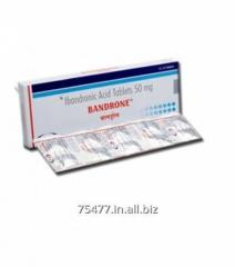 Osteoporosis /Arthritis ---- Bandrone - Ibandronate Sodium Tablets