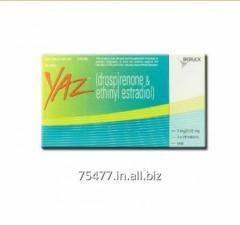 Yaz Tablet (Drospirenone/Ethinyl Estradiol)