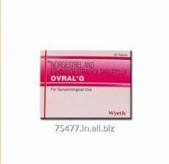 Ovral G (Ethinyl Estradiol 0.05 mg
