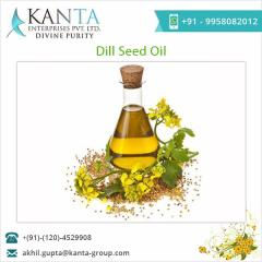 Export Quality Dill Seeds Oil