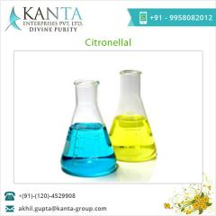 Highly Effective Citronellal 95%