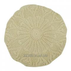 Full Lace Round Cushion Cover