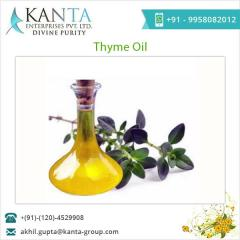 Easy to Store Thyme Oil