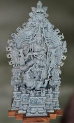 Yuddha: The Fiery Dance-Sculpture
