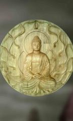 Dhyana: The Meditating Buddha-Sculpture