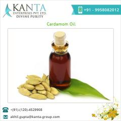 100% Pure Cardamom Oil Supplier