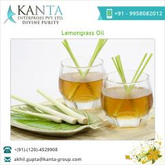 Balanced Composition Lemon Grass Oil for Sale