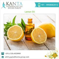 100% Healthy Standard Quality Lemon Essential Oil