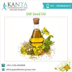 Export Quality Dill Seeds Oil for Skin Treatment