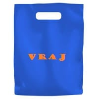 Plastic bags as tool of branding: