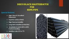 Black masterbtch for irregation pipe