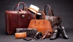 Genuine leather products exports from India